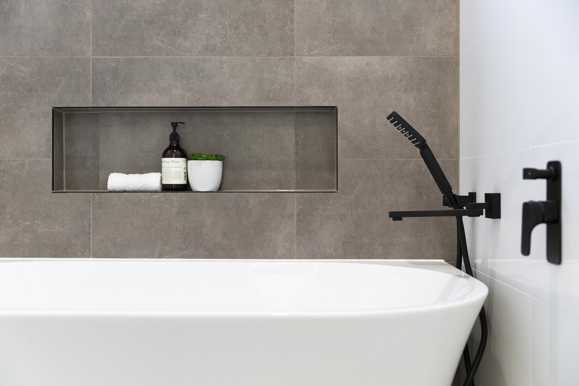 Nyt flot badeværelse